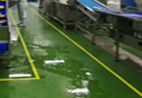 前期带水处理区域地坪体系